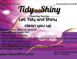 #4 untuk Design a Flyer for Tidy and Shiny (cleaning company) oleh androidianrey