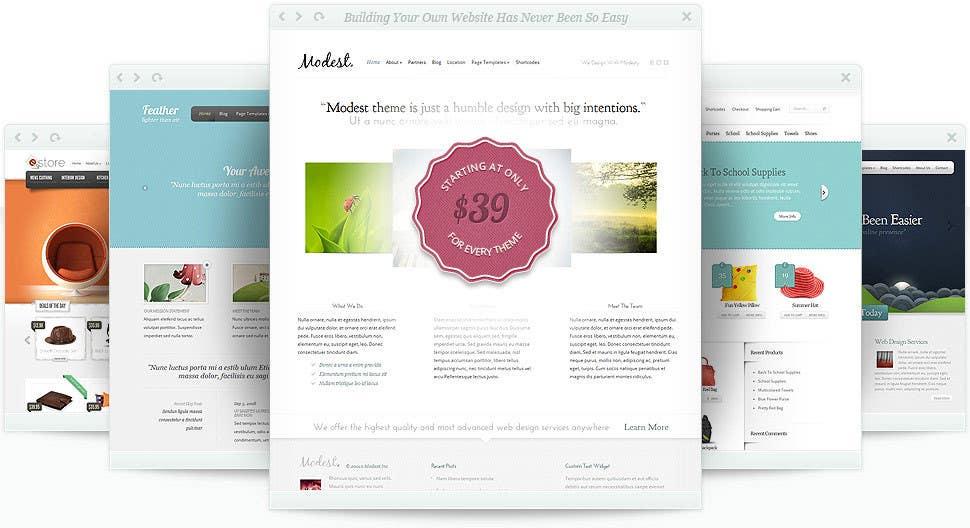 #3 for Designa a website model. by mizanurrahman20
