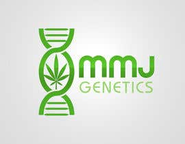 nº 68 pour Graphic Design Logo for MMJ Genetics and mmjgenetics.com par benpics
