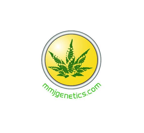 Inscrição nº                                         2                                      do Concurso para                                         Graphic Design Logo for MMJ Genetics and mmjgenetics.com