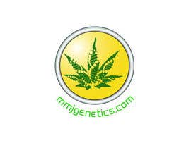 perthdesigns tarafından Graphic Design Logo for MMJ Genetics and mmjgenetics.com için no 2