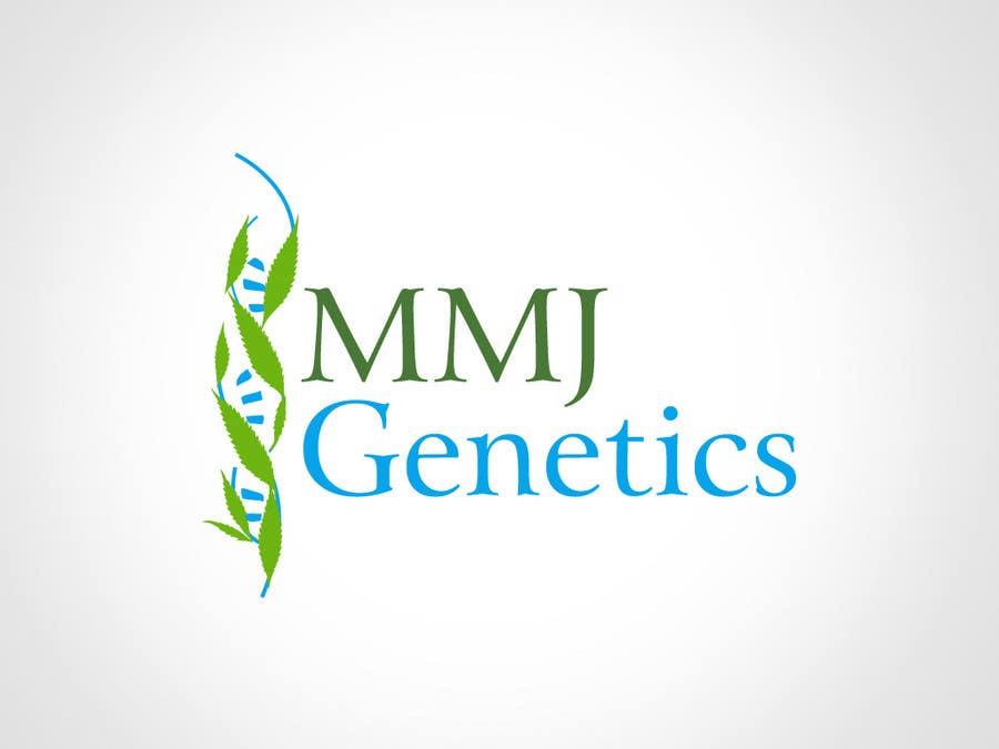 Конкурсная заявка №29 для Graphic Design Logo for MMJ Genetics and mmjgenetics.com
