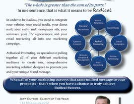#7 for Design a Flyer for RadicalPromoting.com af NewmarWegner2103