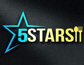 DjIloveDESIGN tarafından Logo 5 Stars için no 217