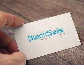 banklogo40 tarafından Design a Logo for Black Sails Technology için no 181