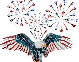 #75 for Create July 4th Themed Vector Art by lauraburdea