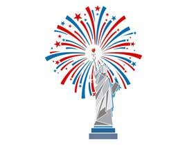 #42 for Create July 4th Themed Vector Art by rosarioleko06