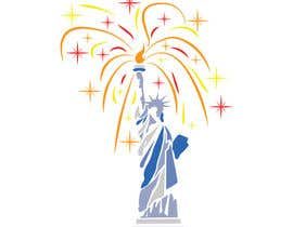 #27 for Create July 4th Themed Vector Art by desavic