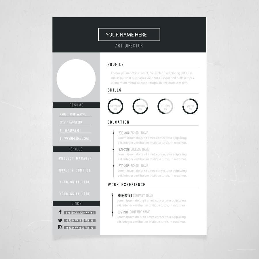 make me a new cv resume lancer 15 for make me a new cv resume by surajhemnani