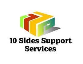 #40 para Design a Logo for (10 Sides Support Services) por hemalibahal
