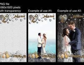 Nro 11 kilpailuun Design Snapchat Filters for a wedding käyttäjältä Mihsan1986