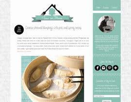 #97 para Design a logo for my foodblog por kwaldo