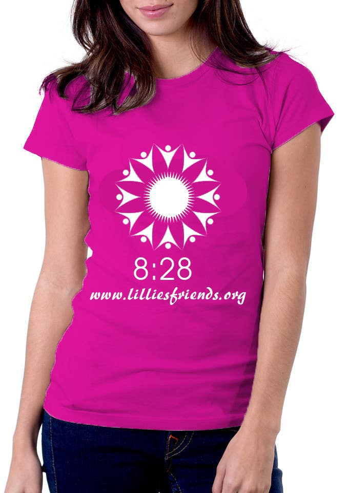 #27 for Lillie's Friends Foundation Adult T-Shirt Design by logodancer