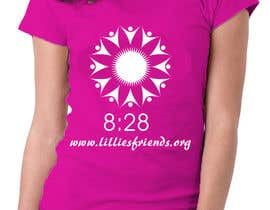 nº 27 pour Lillie's Friends Foundation Adult T-Shirt Design par logodancer