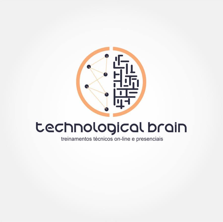 Kilpailutyö #24 kilpailussa Projetar Logo da empresa Technological Brain