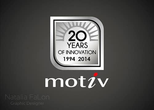 Inscrição nº 99 do Concurso para Design a Logo for 20th Anniversary of Motiv