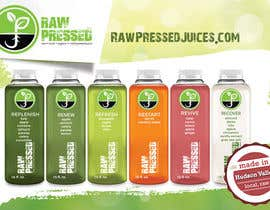 nº 8 pour Design a Flyer for Cold Pressed Juice par samazran
