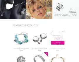 avkota tarafından Design the fashion jewelry website mockup için no 52