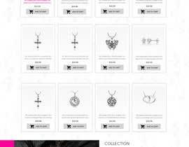 bestwebthemes tarafından Design the fashion jewelry website mockup için no 42