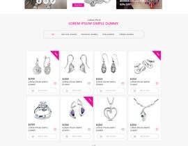 creative223 tarafından Design the fashion jewelry website mockup için no 39