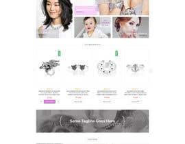 Nro 49 kilpailuun Design the fashion jewelry website mockup käyttäjältä surajit666