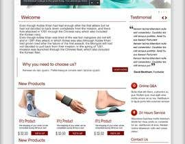 #10 cho Design of a new fresh webdesign for a medical company bởi asad12204