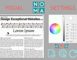 nº 2 pour Design a Website Mockup for NOMA par MaxCara