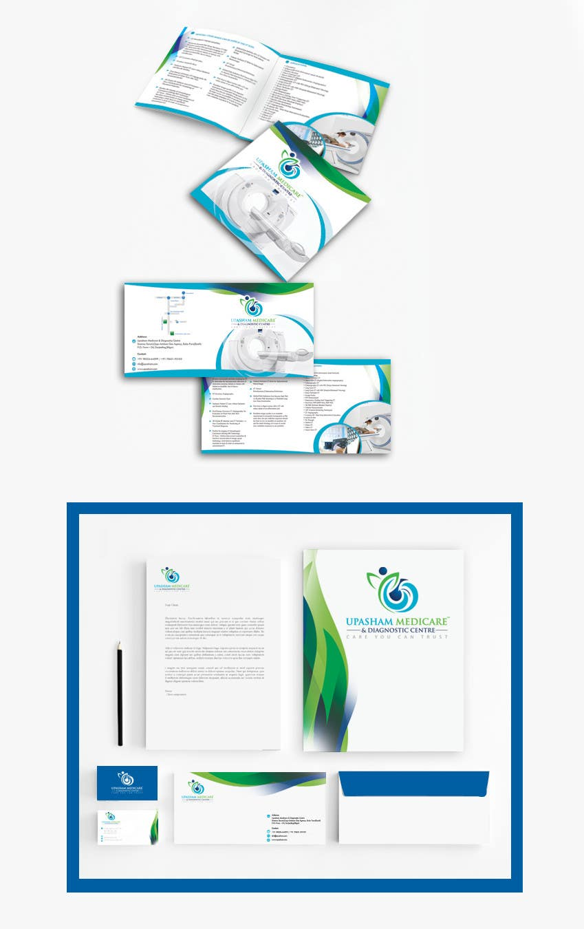 Entry #24 by jemar2009 for Design a brochure for CT Scan Services of