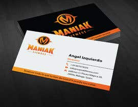 #62 for Design some Business Cards for Maniak Fitness by mamun313