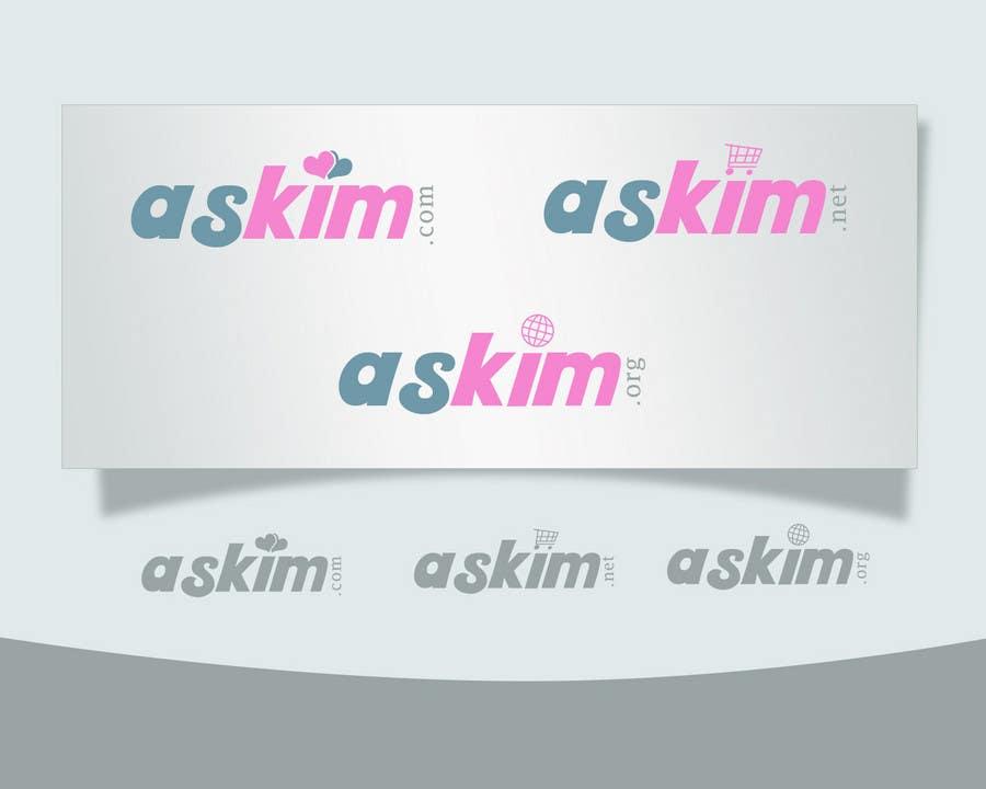 Bài tham dự cuộc thi #                                        65                                      cho                                         Logo Design for ASKIM - Dating company logo