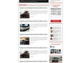 #4 cho Design a Website Mockup for Classic Car Restoration Site. Layout provided. Just need your magical touches. bởi tania06