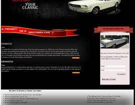 davsasas tarafından Design a Website Mockup for Classic Car Restoration Site. Layout provided. Just need your magical touches. için no 20