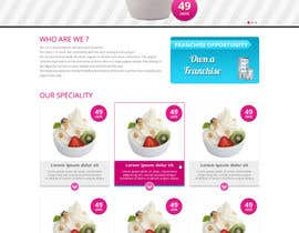 #35 for Yogurt website Home page af Patelasmi