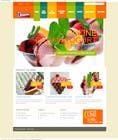 Contest Entry #8 for Yogurt website Home page