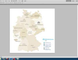 nº 16 pour I need some Graphic Design of a map of Germany in less than 24 hours. par pasiw
