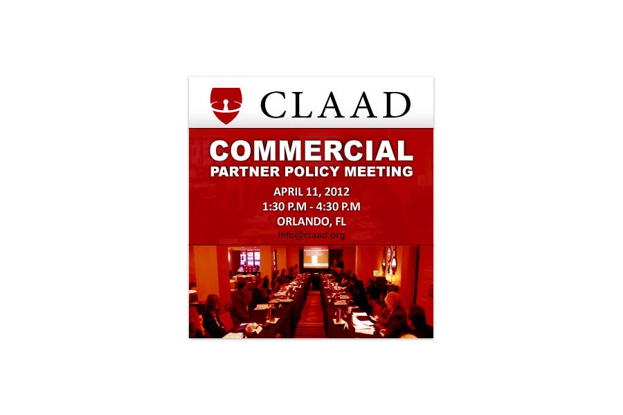 Inscrição nº 49 do Concurso para Banner Ad Design for Center for Lawful Access and Abuse Deterrence (CLAAD)