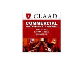 nº 49 pour Banner Ad Design for Center for Lawful Access and Abuse Deterrence (CLAAD) par Leqart