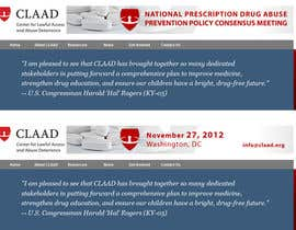 ivanbogdanov tarafından Banner Ad Design for Center for Lawful Access and Abuse Deterrence (CLAAD) için no 34