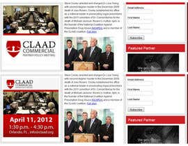 #33 untuk Banner Ad Design for Center for Lawful Access and Abuse Deterrence (CLAAD) oleh ivanbogdanov