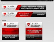 Graphic Design Inscrição do Concurso Nº61 para Banner Ad Design for Center for Lawful Access and Abuse Deterrence (CLAAD)