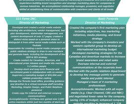 #11 for convert my resume to an eye catching graphic resume by JamesHoekz
