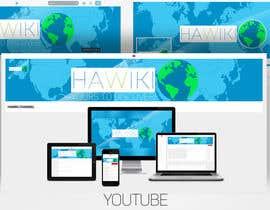 ShayhR tarafından Design Social Media Banners Logo Provided (Twitter, Youtube and Facebook) için no 24