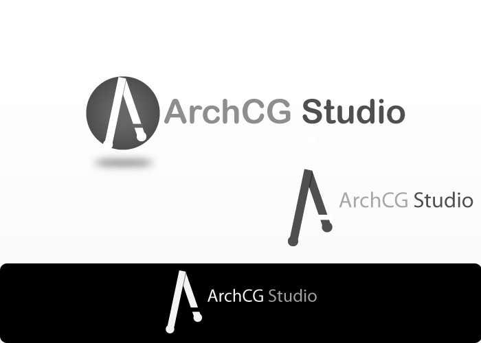 Kilpailutyö #354 kilpailussa Logo Design for ArchCG Studio