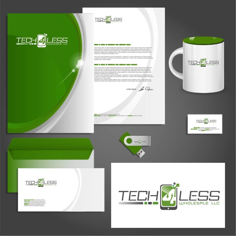 Konkurrenceindlæg #125 for Design a Corporate Logo & Identity for Tech4Less Wholesale