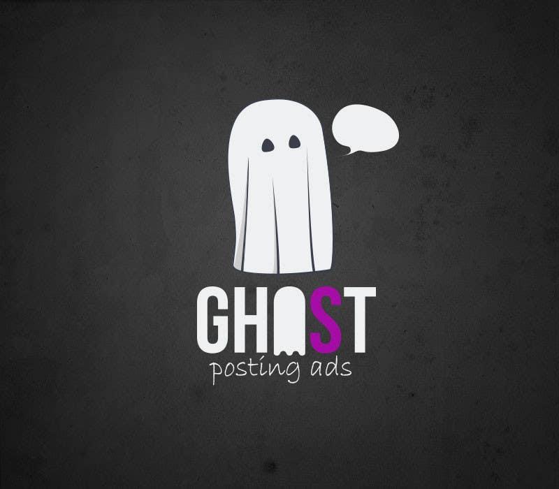 Penyertaan Peraduan #                                        19                                      untuk                                         Logo for Ghost Posting Ads