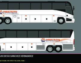 Nro 10 kilpailuun Design a unique look for our buses käyttäjältä Vrendengard