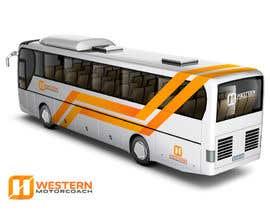 Nro 77 kilpailuun Design a unique look for our buses käyttäjältä jaiko