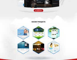 nº 4 pour Design a Website Mockup for a Web Design Agency par tania06