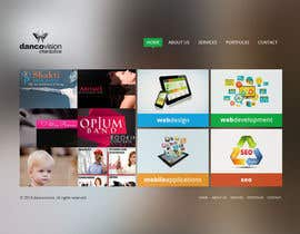 Pavithranmm tarafından Design a Website Mockup for a Web Design Agency için no 3