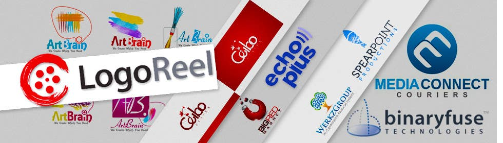 Kilpailutyö #22 kilpailussa Design a landing page banner for new logo design service